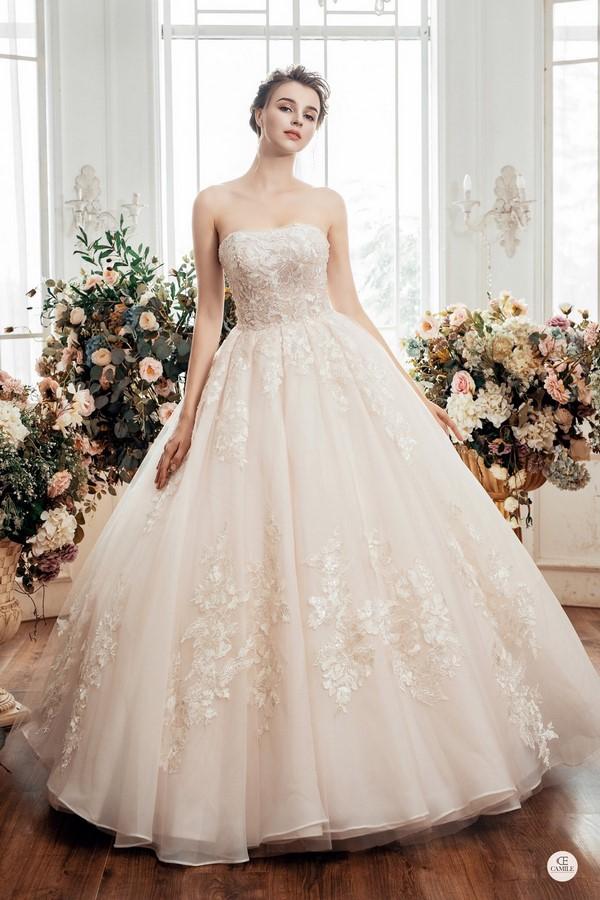 váy cưới dành cho người lùn 8 Địa chỉ cho thuê váy cưới dành cho người lùn đẹp nhất tại Hà Nội