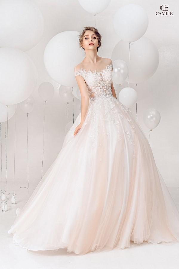 váy cưới thiết kế 14 Địa chỉ may đo thuê váy cưới thiết kế cao cấp đẹp và nhiều mẫu nhất Hà Nội