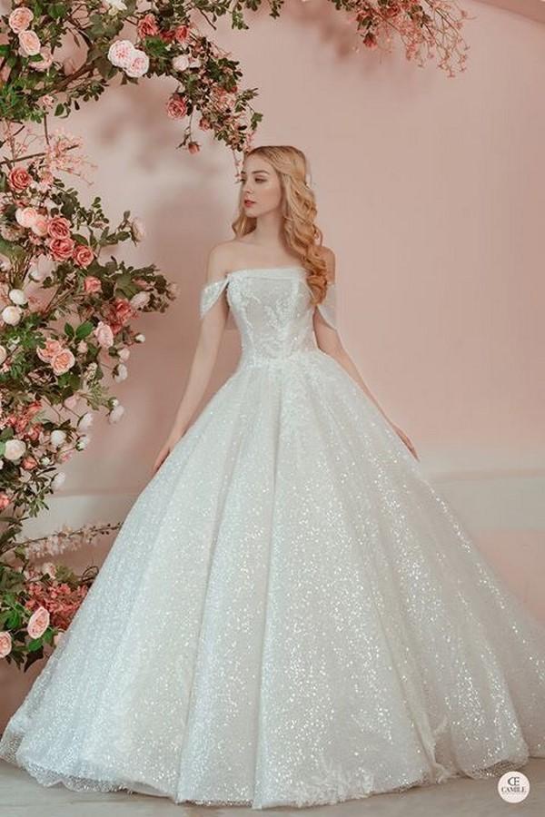 váy cưới thiết kế 4 Địa chỉ may đo thuê váy cưới thiết kế cao cấp đẹp và nhiều mẫu nhất Hà Nội