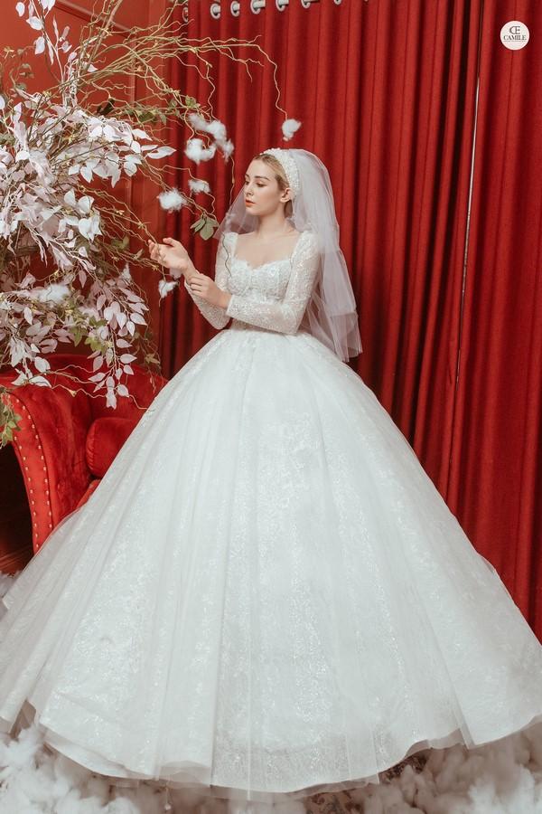 váy cưới thiết kế 7 Địa chỉ may đo thuê váy cưới thiết kế cao cấp đẹp và nhiều mẫu nhất Hà Nội