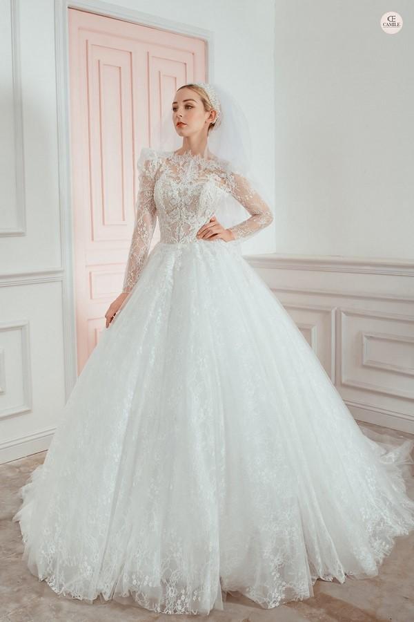 váy cưới thiết kế 9 Địa chỉ may đo thuê váy cưới thiết kế cao cấp đẹp và nhiều mẫu nhất Hà Nội