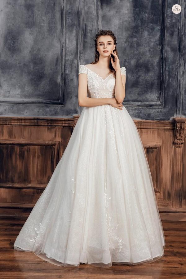 xưởng may váy cưới Xưởng may váy cưới đẹp giá rẻ, nhiều mẫu nhất Hà Nội