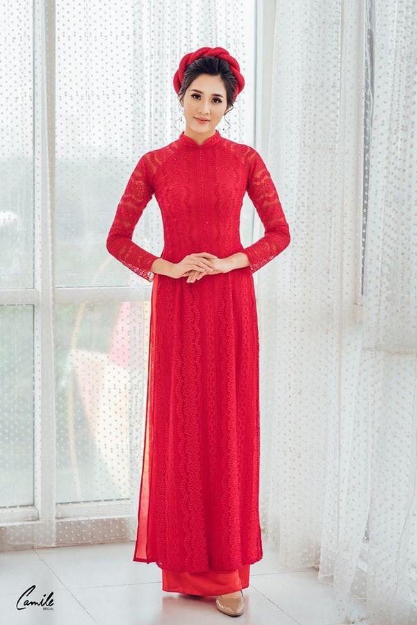 xưởng may áo dài  Xưởng may áo dài cưới cho cô dâu đẹp, giá rẻ, nhiều mẫu nhất tại Hà Nội
