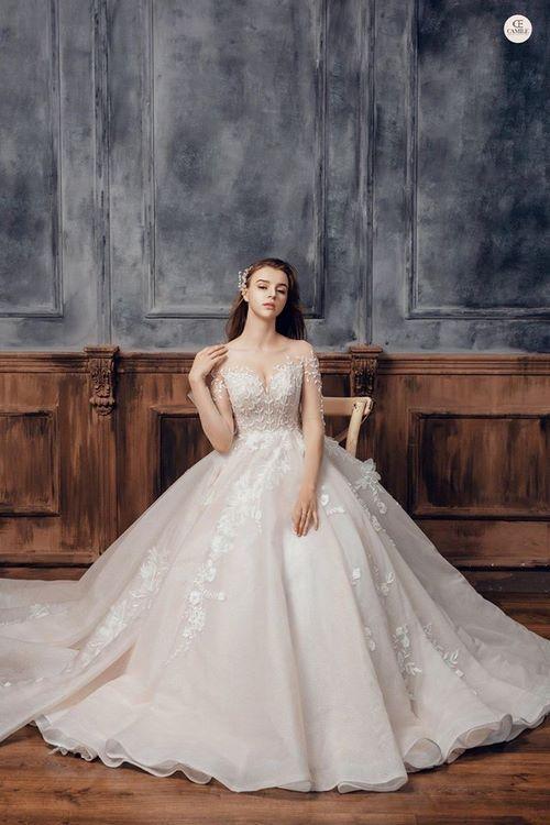 may áo cưới cho cô dâu 10 Xưởng may áo cưới cho cô dâu theo yêu cầu đẹp và độc nhất Hà Nội