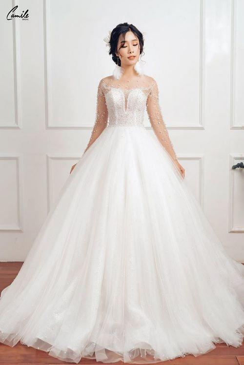 may áo cưới cho cô dâu 3 Xưởng may áo cưới cho cô dâu theo yêu cầu đẹp và độc nhất Hà Nội