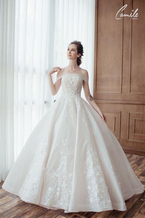 may áo cưới cho cô dâu 4 Xưởng may áo cưới cho cô dâu theo yêu cầu đẹp và độc nhất Hà Nội