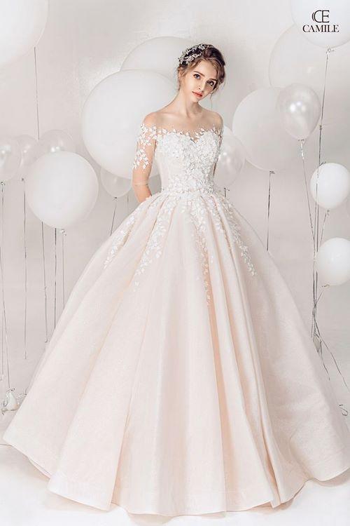 may áo cưới cho cô dâu 5 Xưởng may áo cưới cho cô dâu theo yêu cầu đẹp và độc nhất Hà Nội
