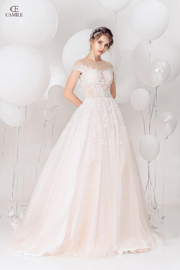 thuê váy cưới Huyện Quốc Oai 5 Địa chỉ thuê váy cưới huyện Quốc Oai nhiều mẫu đẹp lung linh