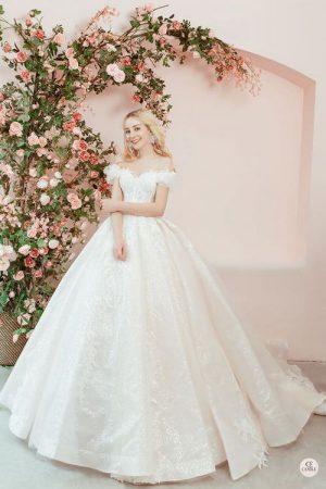 váy cưới cho bà bầu 1 Thuê váy cưới cho bà bầu rẻ đẹp – Chiêm ngưỡng những mẫu thiết kế áo cưới đẹp nhất 2021