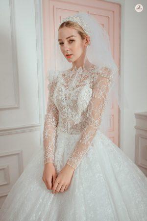 thuê váy cưới Quận Ba Đình 4 Kinh nghiệm thuê váy cưới quận Ba Đình nhất định bạn phải biết