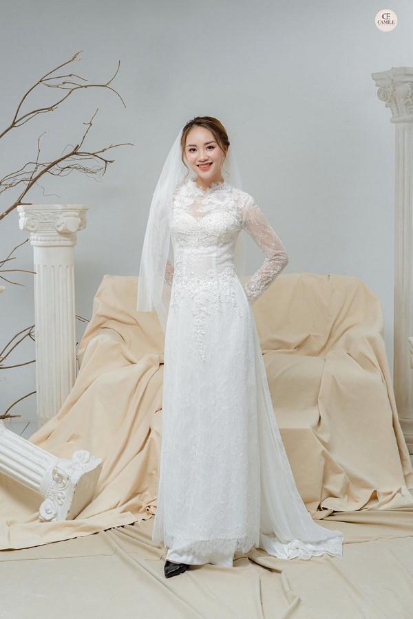 thuê áo dài cưới Địa chỉ cho thuê áo dài cưới cao cấp trọn gói, nhiều mẫu mới nhất tại Hà Nội