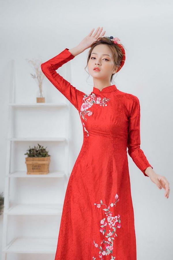 mẫu áo dài cưới đẹp đơn giản 10 mẫu áo dài cưới đẹp đơn giản cho các cô dâu nhẹ nhàng, nữ tính