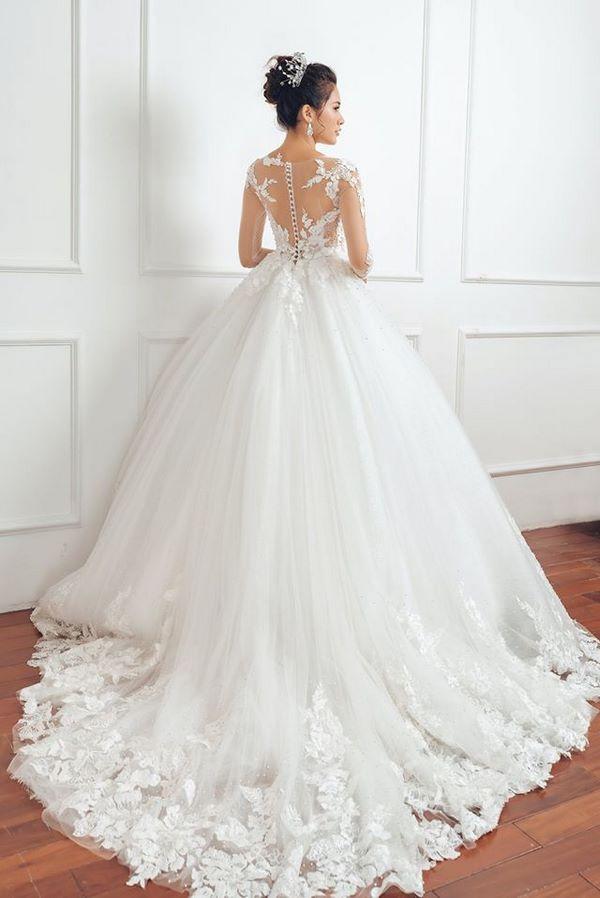 thuê váy cưới 1 Chi phí thuê váy cưới là bao nhiêu? Có đắt không?