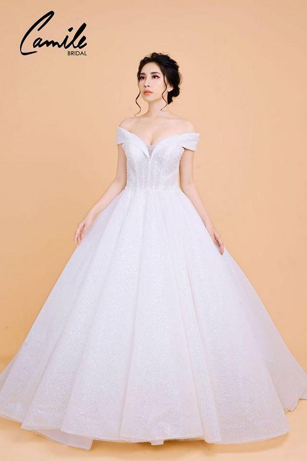 """""""váy cưới cho cô dâu béo bụng """" Top 30 mẫu váy cưới cho cô dâu mập đẹp nhất hiện nay"""