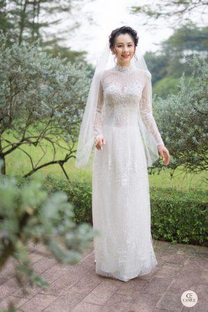 Áo Dài Cưới 1 03.Camile Bridal- Váy cưới Thiết Kế Cao Cấp đẹp nhất 2021