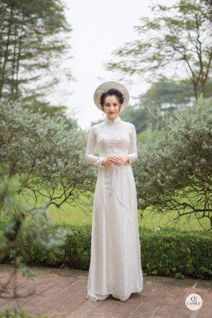 Áo Dài Cưới 10 03.Camile Bridal- Váy cưới Thiết Kế Cao Cấp đẹp nhất 2021