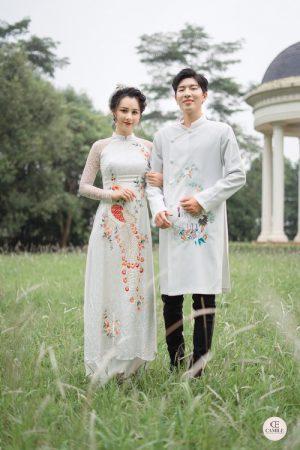 Áo Dài Cưới 11 03.Camile Bridal- Váy cưới Thiết Kế Cao Cấp đẹp nhất 2021