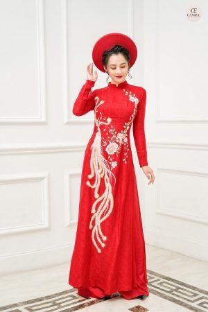Áo Dài Cưới 12 03.Camile Bridal- Váy cưới Thiết Kế Cao Cấp đẹp nhất 2021
