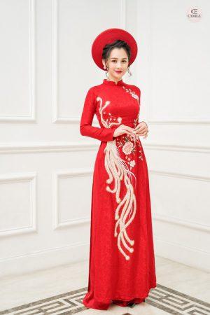 Áo Dài Cưới 13 03.Camile Bridal- Váy cưới Thiết Kế Cao Cấp đẹp nhất 2021
