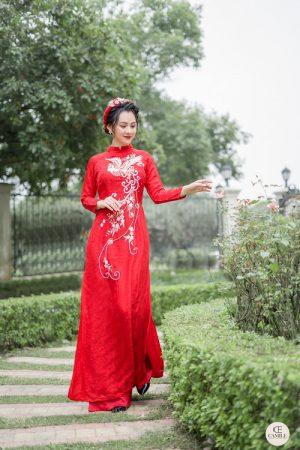 Áo Dài Cưới 15 03.Camile Bridal- Váy cưới Thiết Kế Cao Cấp đẹp nhất 2021