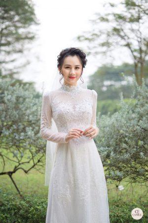 Á2o Dài Cưới  03.Camile Bridal- Váy cưới Thiết Kế Cao Cấp đẹp nhất 2021