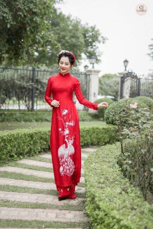 Áo Dài Cưới 22 03.Camile Bridal- Váy cưới Thiết Kế Cao Cấp đẹp nhất 2021
