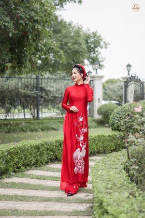 Áo Dài Cưới 23 03.Camile Bridal- Váy cưới Thiết Kế Cao Cấp đẹp nhất 2021