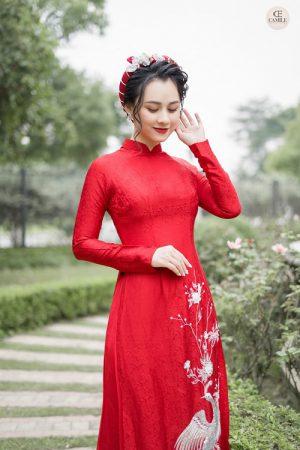 Áo Dài Cưới 24 03.Camile Bridal- Váy cưới Thiết Kế Cao Cấp đẹp nhất 2021