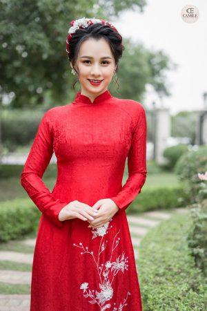 Áo Dài Cưới 25 03.Camile Bridal- Váy cưới Thiết Kế Cao Cấp đẹp nhất 2021