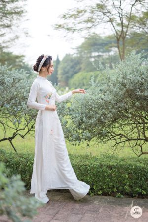 Áo Dài Cưới 3 03.Camile Bridal- Váy cưới Thiết Kế Cao Cấp đẹp nhất 2021