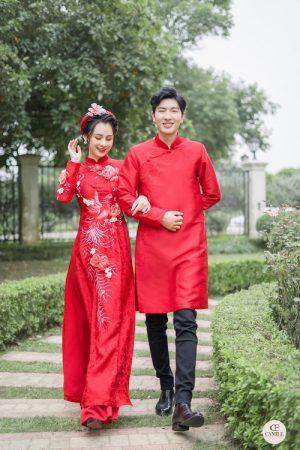 Áo Dài Cưới 30 03.Camile Bridal- Váy cưới Thiết Kế Cao Cấp đẹp nhất 2021