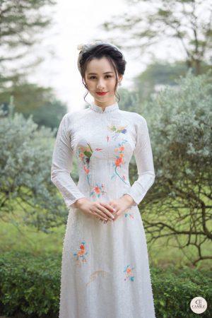 Áo Dài Cưới 5 03.Camile Bridal- Váy cưới Thiết Kế Cao Cấp đẹp nhất 2021