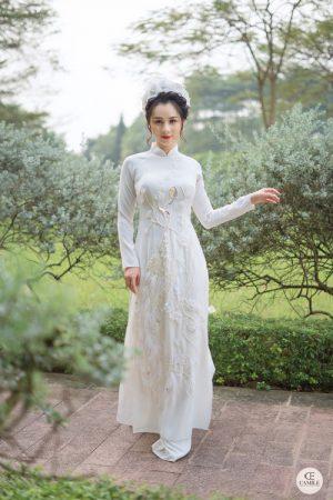 Áo Dài Cưới 6 03.Camile Bridal- Váy cưới Thiết Kế Cao Cấp đẹp nhất 2021
