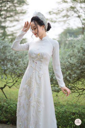 Áo Dài Cưới 7 Địa chỉ may áo dài cưới thiết kế đẹp, ấn tượng