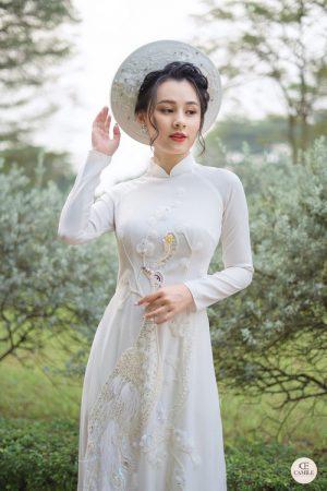 Áo Dài Cưới 8 03.Camile Bridal- Váy cưới Thiết Kế Cao Cấp đẹp nhất 2021