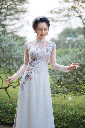 Áo Dài Cưới 9 03.Camile Bridal- Váy cưới Thiết Kế Cao Cấp đẹp nhất 2021
