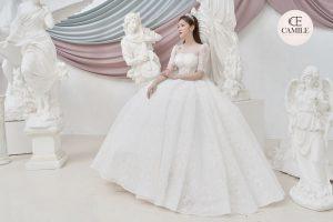 VÁY CƯỚI LUXURY CLASSIC 2021 Váy cưới eo Corset – Tôn vóc dáng kiều diễm của cô dâu
